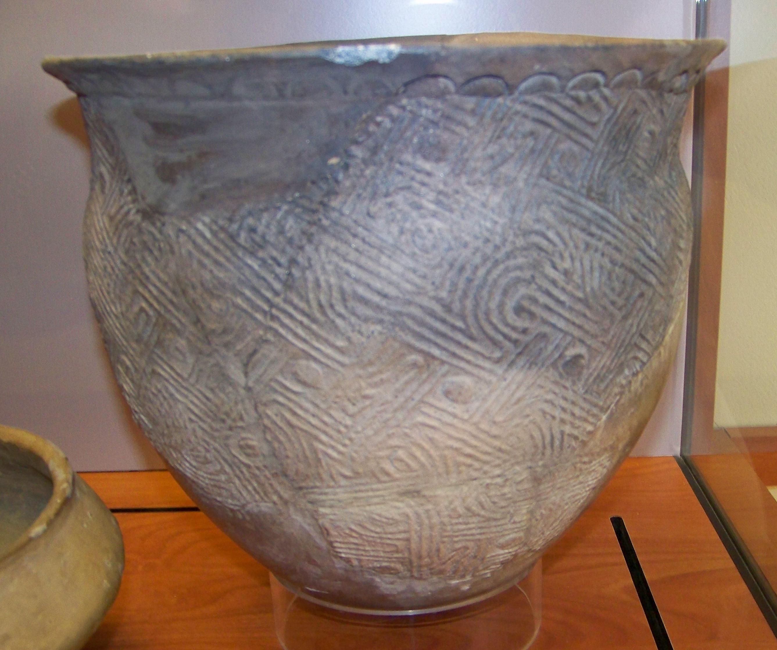 South Carolina Complicated Stamped Pottery